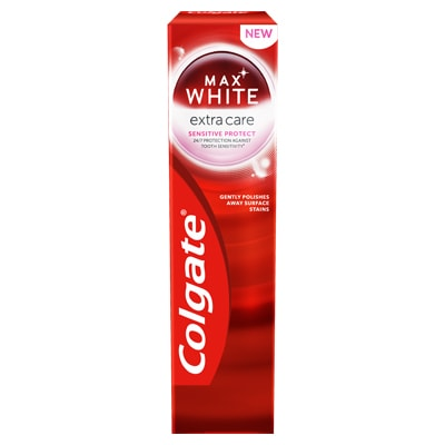 Pastă de dinți Colgate Max White Extra Care Sensitive Protect 75ml