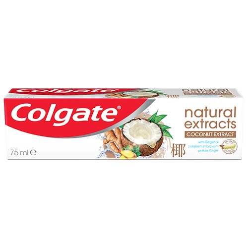 Colgate Natural Extracts Ginger & Coco