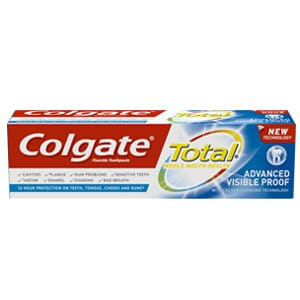 Pasta de dinți Colgate Total Advanced Visible Proof
